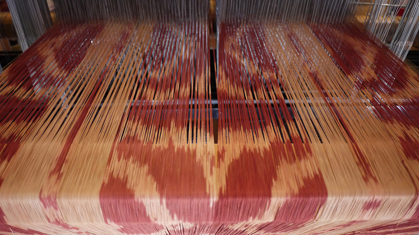back of loom