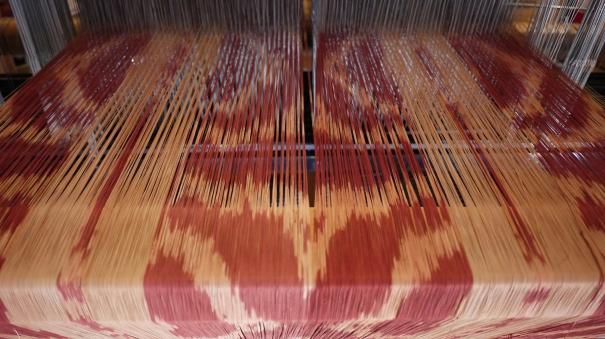 back of loom