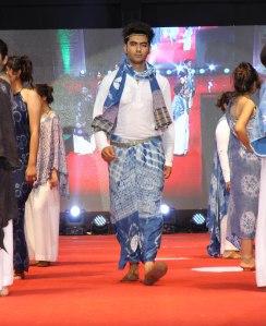 Mrs. Amrita Doshi designed a sarong and scarf.